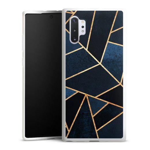 DeinDesign Handyhülle »Navy Stone« Samsung Galaxy Note 10 Plus, Hülle Elisabeth Fredriksson Dreiecke Abstrakt