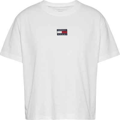 Tommy Jeans Rundhalsshirt »TJW Tommy Center Badge Tee« mit Tommy Jeans Logo-Badge auf der Brust