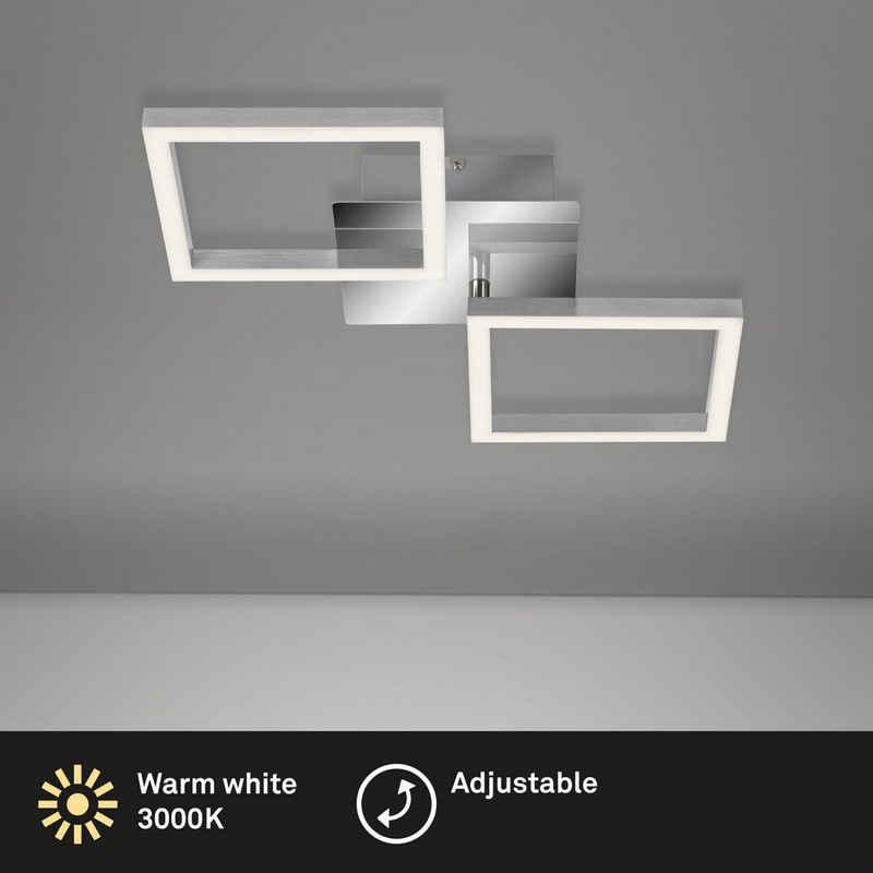 Briloner Leuchten Deckenleuchte »3207-018«, Deckenlampe drehbar 3000K 47x22,6x7,3cm - SMALL