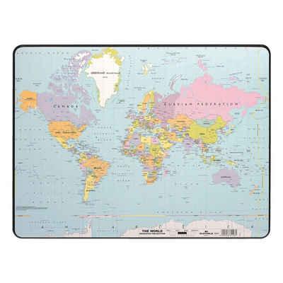 DURABLE Schreibtischunterlage »Weltkarte«