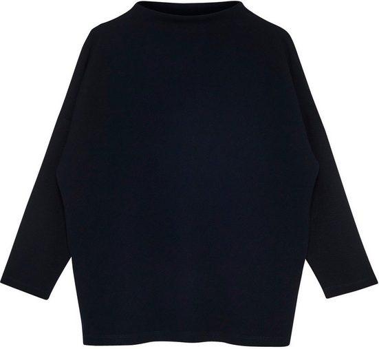 someday Sweatshirt »Unni« mit softem Funnel-Neck