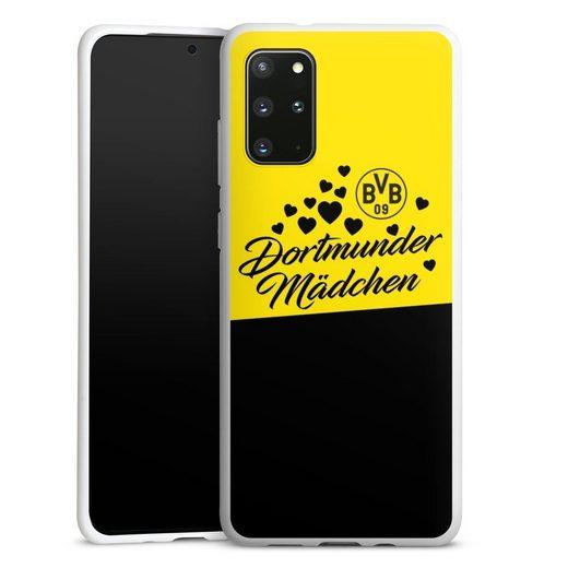 DeinDesign Handyhülle »BVB Dortmunder Mädel Herzen« Samsung Galaxy S20 Plus, Hülle BVB Borussia Dortmund Dortmunder Mädchen