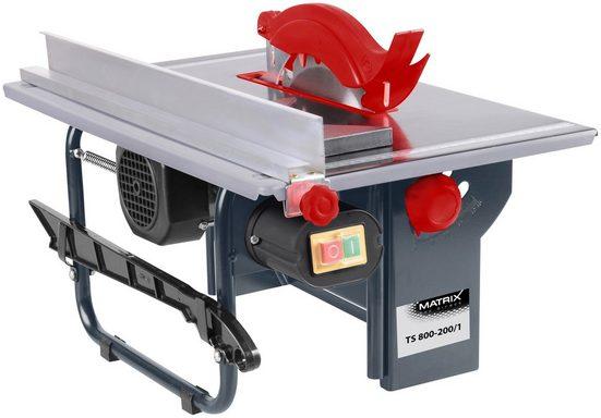 MATRIX Tischkreissäge »TS 800-200 / 1«, 230 V, 200 mm