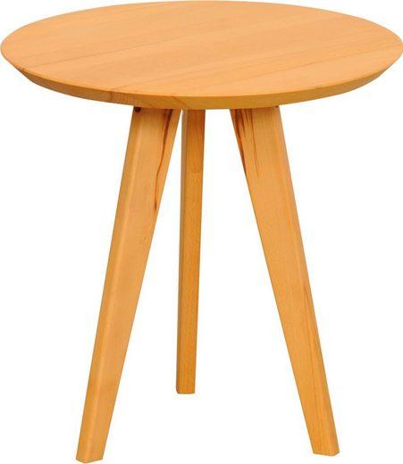 Home affaire Beistelltisch »Olpe«, aus Massivholz, hochwertig Verarbeitet
