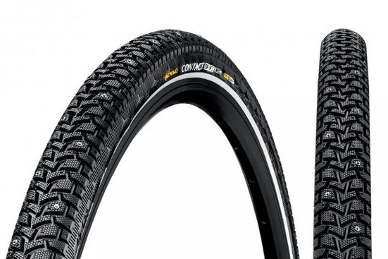 CONTINENTAL Fahrradreifen »Reifen Conti Contact Spike 120 28x1.60' 42-622 sw/«