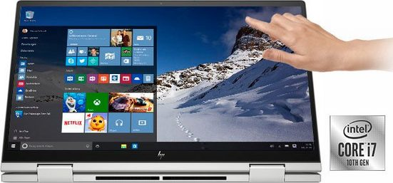 HP ENVY x360 15-ed0273ng Convertible Notebook (39,6 cm/15,6 Zoll, Intel Core i7, Iris Plus Graphics, 512 GB SSD, inkl. Office-Anwendersoftware Microsoft 365 Single im Wert von 69 Euro)