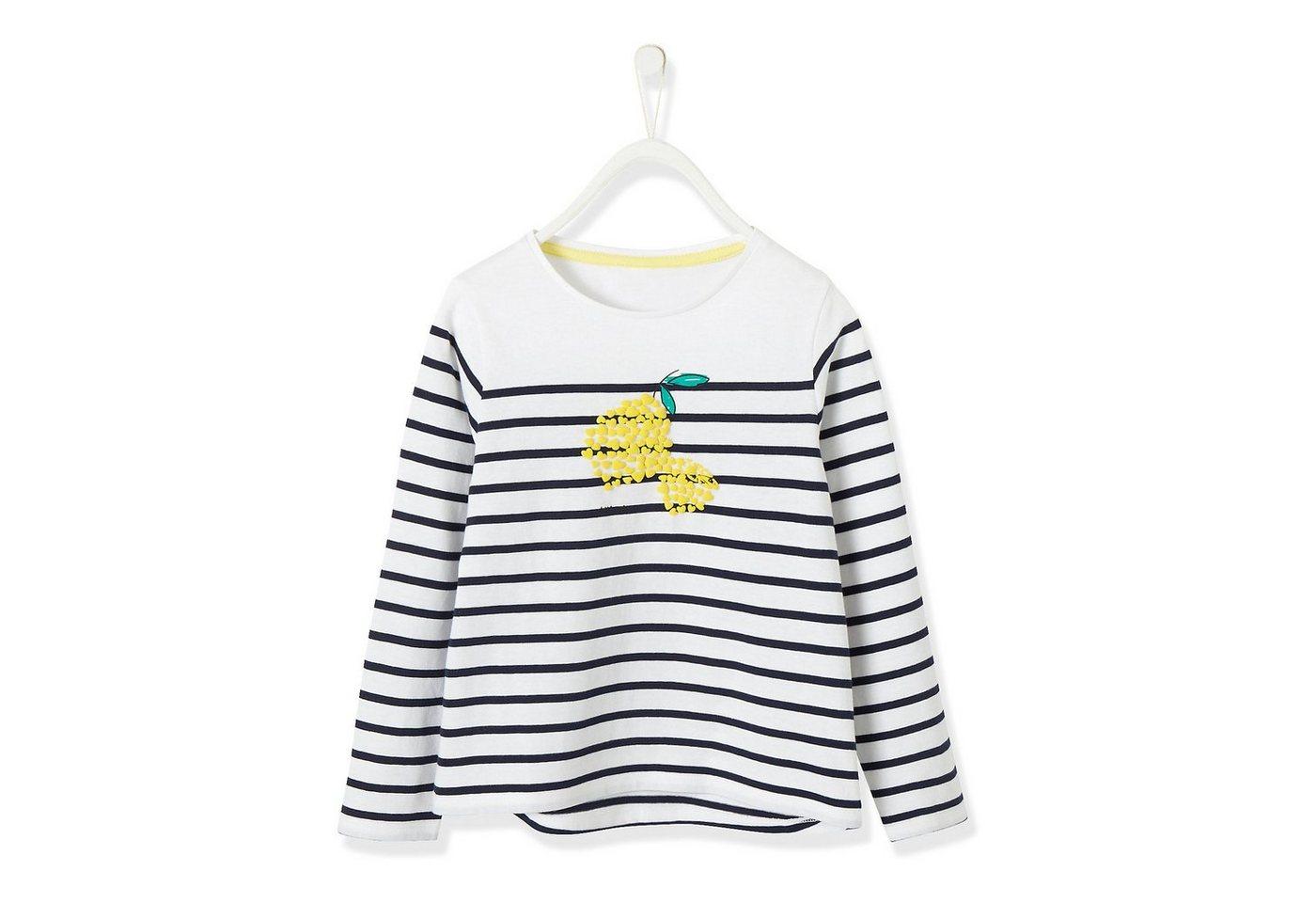 vertbaudet -  Langarmshirt für Mädchen