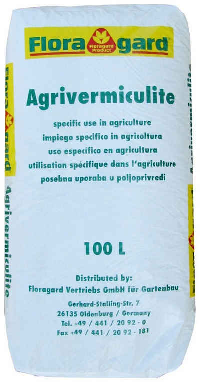 Floragard Gartenbau-Vermiculite Bodenverbesserer, 100 l, 2-3 mm