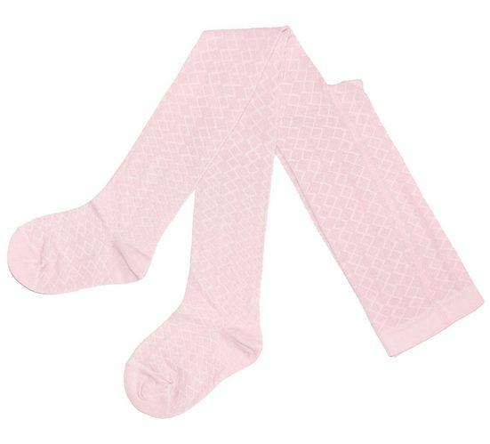 WERI SPEZIALS Strumpfhersteller GmbH Strickstrumpfhose »Kinderstrumpfhose für Mädchen >>Ajour<< mit geprägten Filet Mustern« (1 Stück)