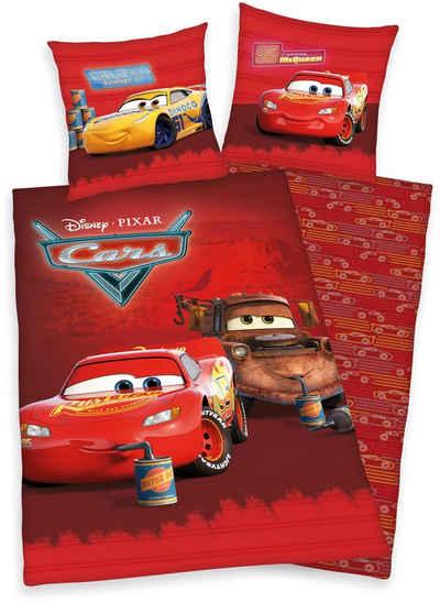 Kinderbettwäsche »Disney´s Cars«, Walt Disney, mit tollem Lightning McQueen-Motiv
