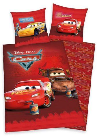 Walt Disney Kinderbettwäsche »Disney´s Cars« su pu...