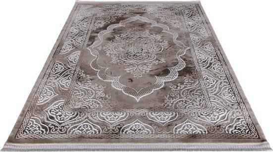 Teppich »Astana«, Festival, rechteckig, Höhe 11 mm, Hoch-Tief-Struktur, Orient Optik