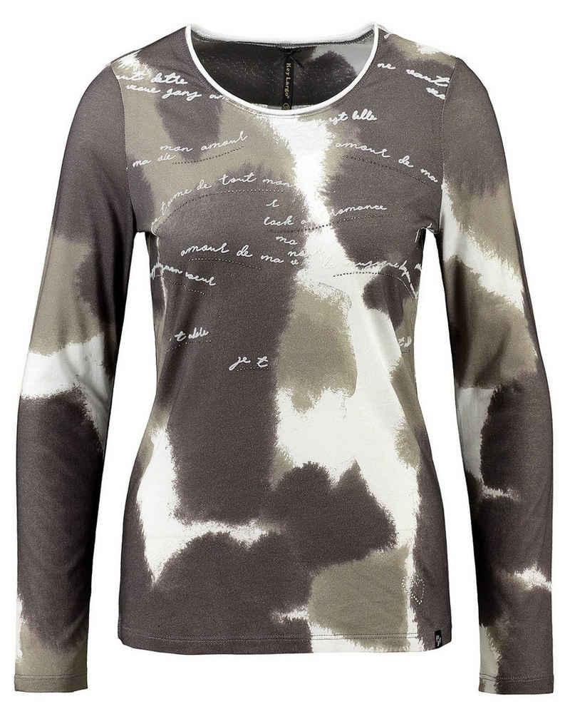 Key Largo T-Shirt »Damen Shirt WLS TALK Langarm«