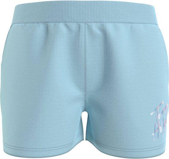 TOMMY HILFIGER Shorts »SCRIPT PRINT SWEAT SHORTS« mit coolem Logo-Druck