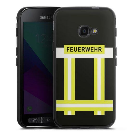 DeinDesign Handyhülle »Feuerwehr« Samsung Galaxy Xcover 4, Hülle Feuerwehr Feuerwehrmann Beruf