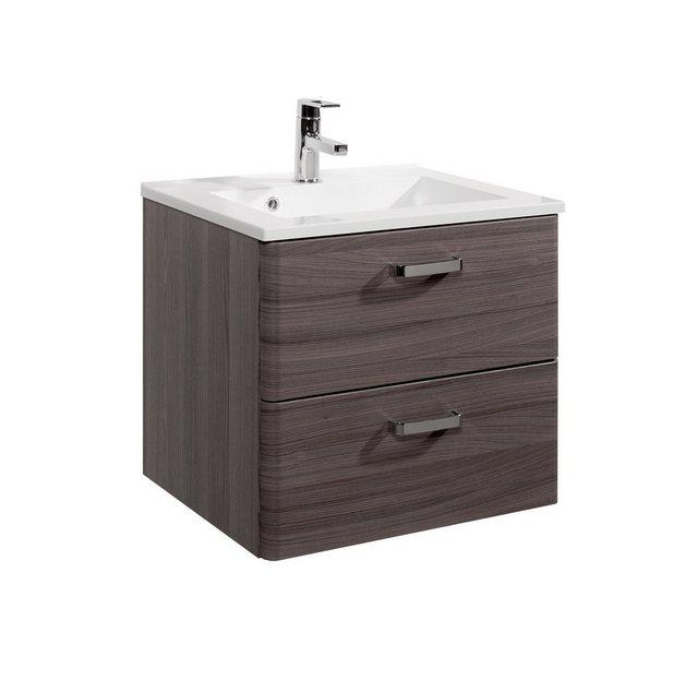 Held Möbel Waschtisch Mailand, 60 cm, braun