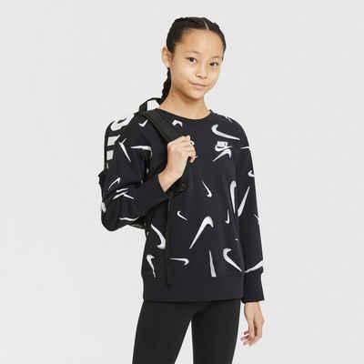 Nike Sportswear Sweatshirt »G Nsw Ft Aop Bf Crew Big Kids' (girls)«