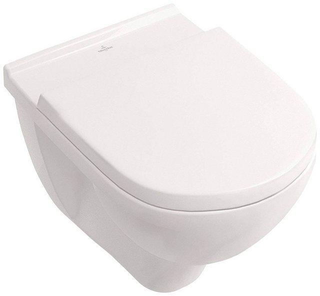 WCs und Zubehör - VILLEROY BOCH Wand WC »O.novo«, spülrandlos  - Onlineshop OTTO
