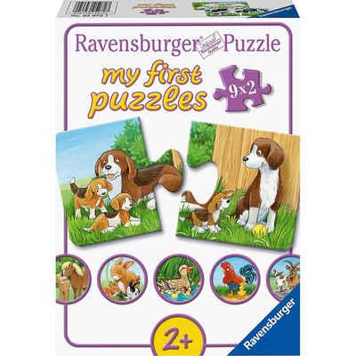 Ravensburger Puzzle »my first puzzles - Tierfamilien auf dem«, Puzzleteile