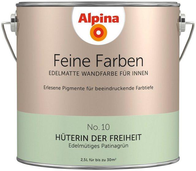 Alpina Feine Farben Hüterin der Freiheit, grün