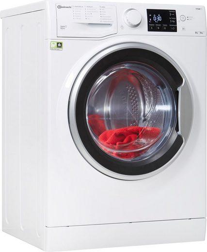 BAUKNECHT Waschtrockner WT SUPER ECO 8614, 8 kg, 6 kg, 1400 U/min