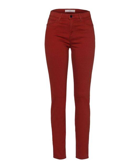 Hosen - Brax 5 Pocket Jeans »Style Shakira« › rot  - Onlineshop OTTO