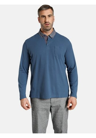 Charles Colby Langarm-Poloshirt »DUKE BRENNAN« feine...