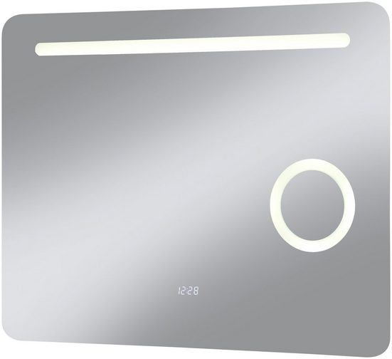 LED-Lichtspiegel »Valencia«, mit integriertem Schminkspiegel