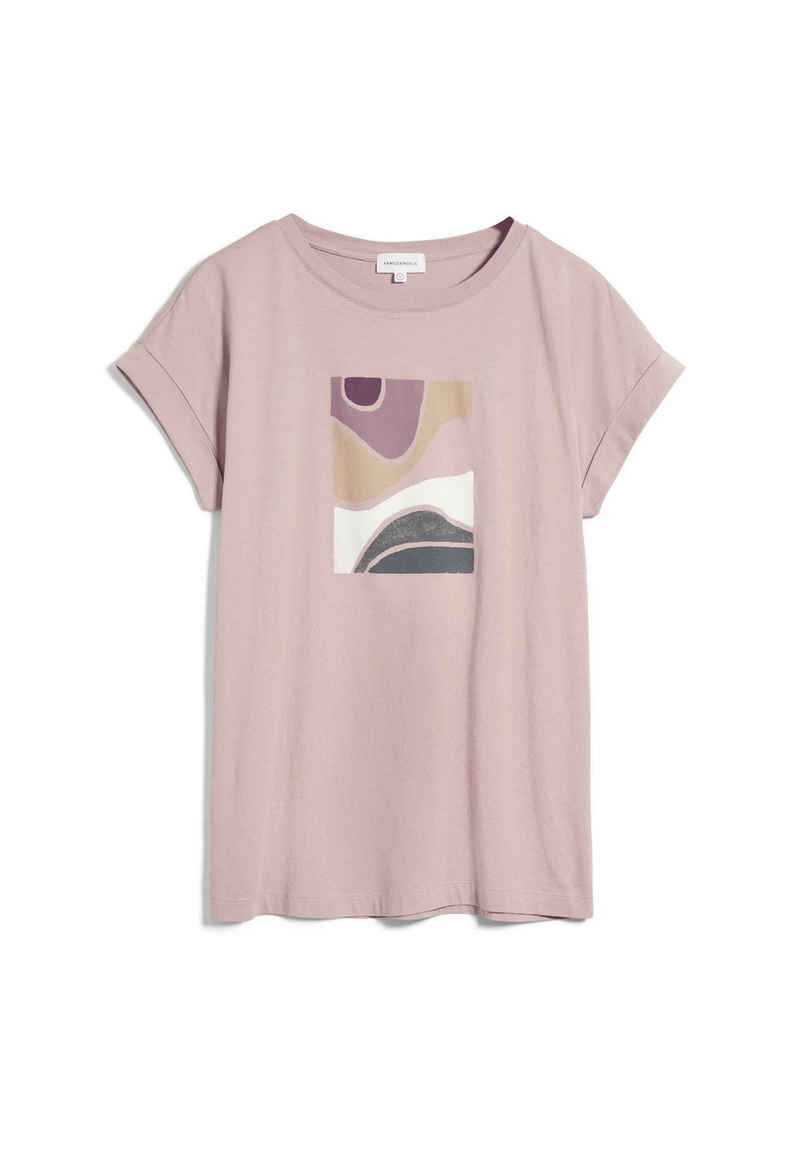 Armedangels T-Shirt »IDAA SOFT HILLS Damen T-Shirt aus Bio-Baumwolle« (1-tlg)