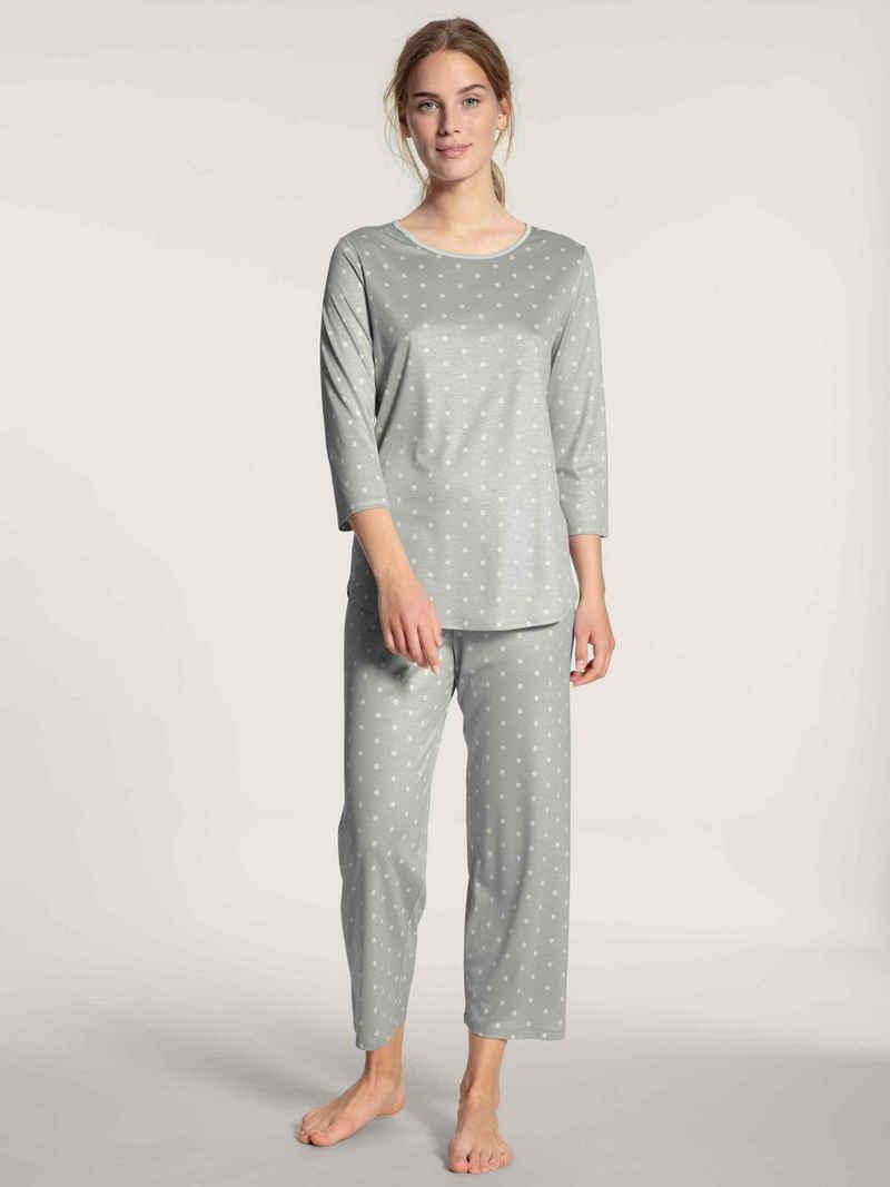 CALIDA Capri-Pyjama »7/8-Pyjama« (2 tlg)