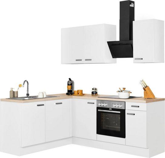 OPTIFIT Winkelküche »Parma«, mit E-Geräten, Stellbreite 215x175 cm