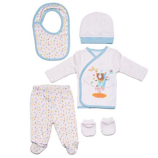 Panco Body »5 Teiliges Neugeborenen Geschenkset«