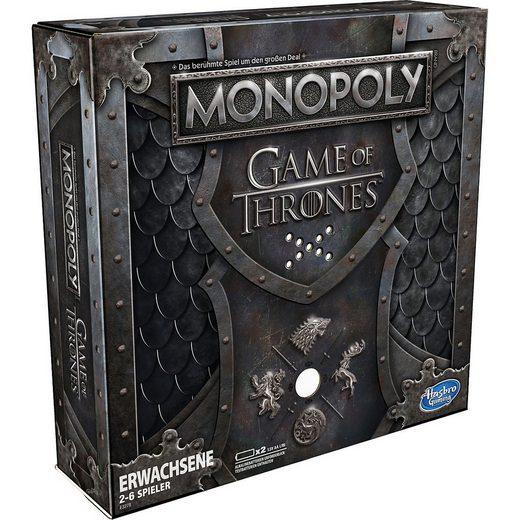 Hasbro Spiel, »Monopoly Game of Thrones«