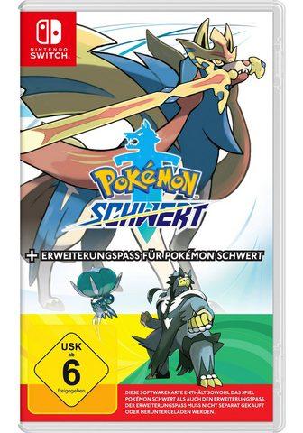 Nintendo Switch Pokémon Schwert + Erweiterungspass