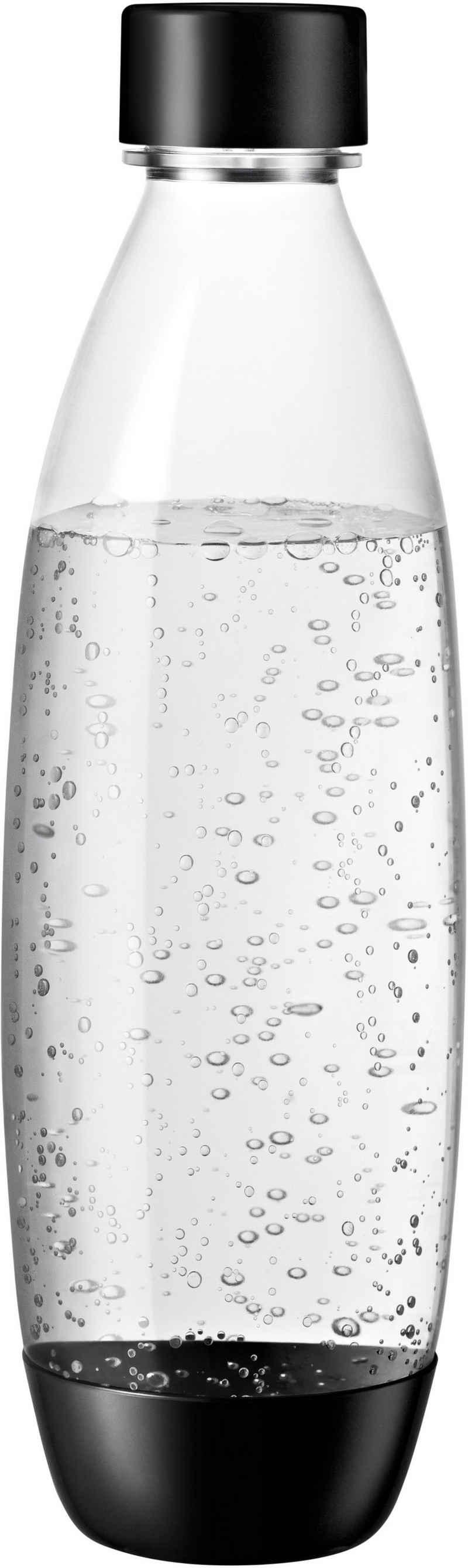 SodaStream Wassersprudler Flasche »DuoPack Fuse«, (Set, 2-tlg), Kunststoff, Ersatzflaschen für SodaStream Wassersprudler mit PET-Flaschen
