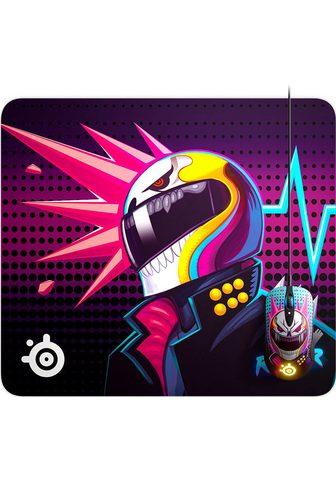 SteelSeries Mauspad »QcK Large CSGO Neon Rider Edi...