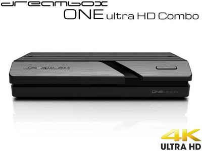 Dreambox »Dreambox One Combo Ultra HD 1x DVB-S2X MIS 1xDVB-C« Satellitenreceiver