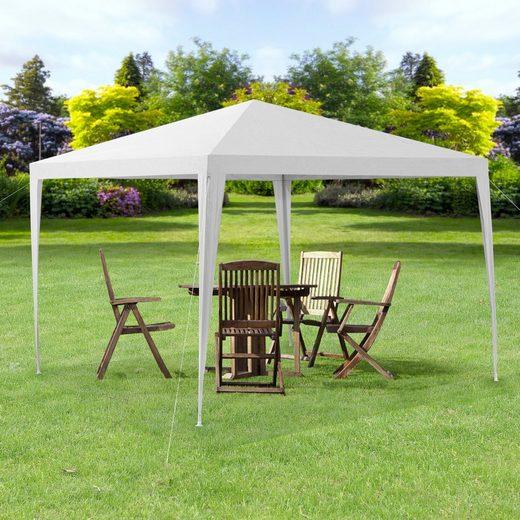 casa.pro Pavillon, »Wedau« Gartenzelt 3x3m weiß, auch in weiteren Größen von 300 bis 900cm