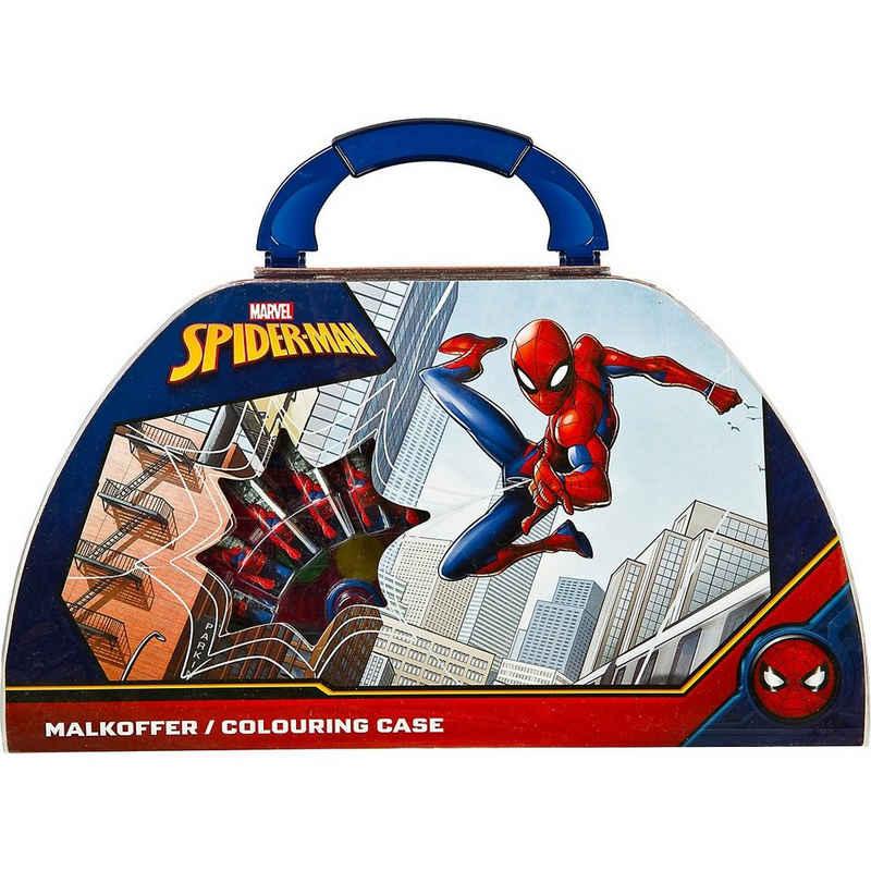 UNDERCOVER Malstift »Malkoffer Spider-Man, 51-teilig«
