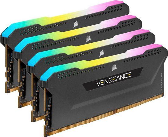 Corsair »Vengeance RGB PRO DDR4 3600Mhz 32GB (4x8GB)« Arbeitsspeicher