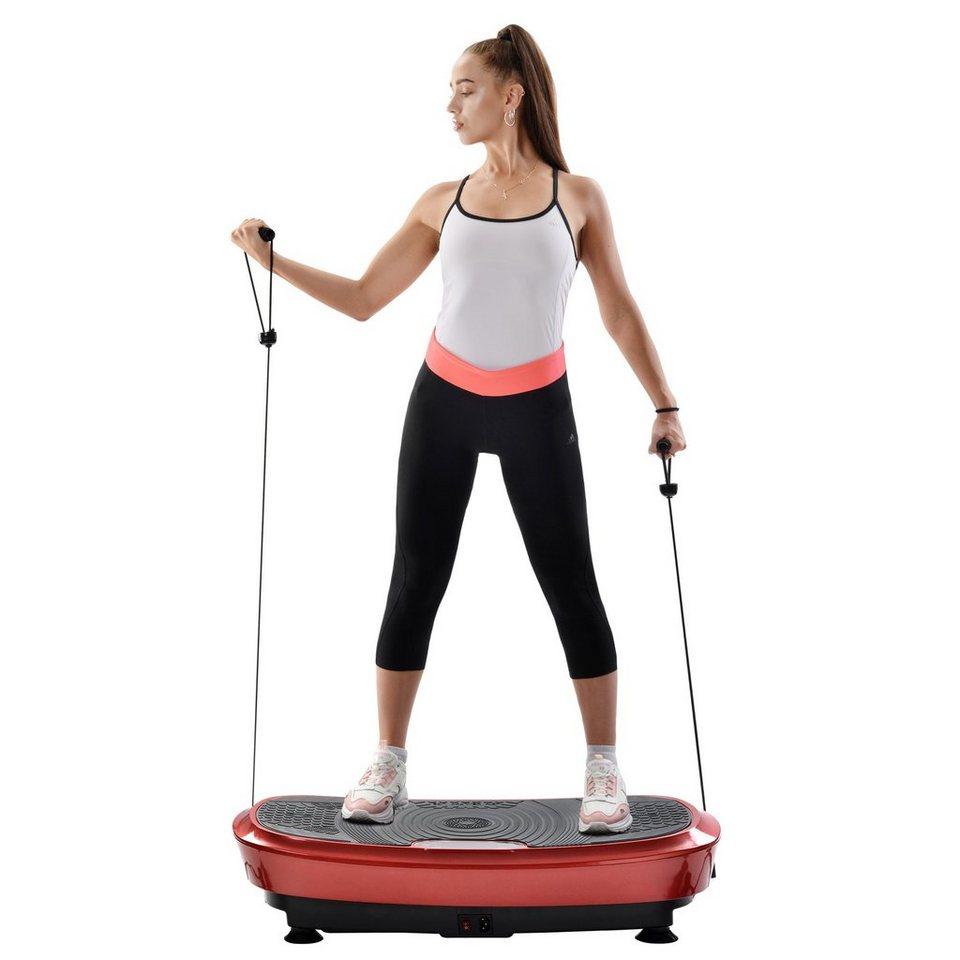 Vibrationsplatte Körper Fitness Trainingsbänder Vibrationstrainer Fitnessgerät