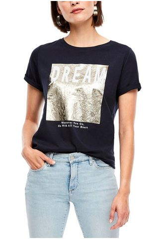 s.Oliver Marškinėliai im Streetwear-Look su coo...