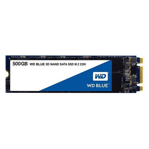 Western Digital »WD Blue SSD 500GB 3D NAND M.2 interne Festplatte« SSD-Festplatte
