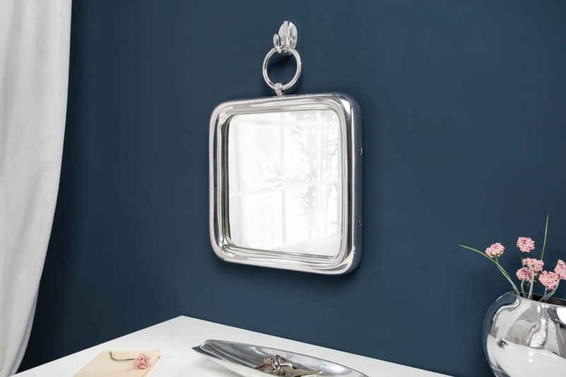 riess-ambiente Wandspiegel »PORTRAIT 35cm silber« (1-St), Spiegel · eckig · mit Rahmen & Aufhängung · Wohnzimmer · Deko