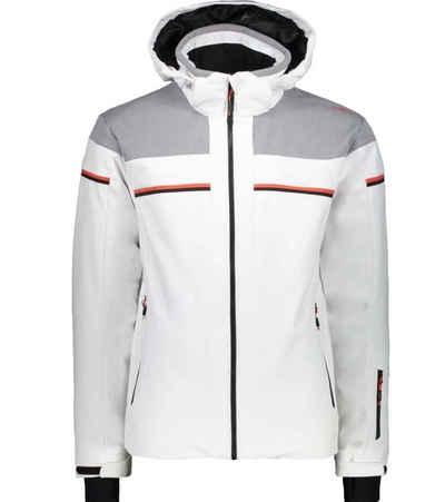CAMPAGNOLO Softshelljacke »Campagnolo Softshell-Jacke wasserweisende Herren Ski-Jacke Outdoor-Jacke mit Clima Protect-Technologie Weiß/Grau«