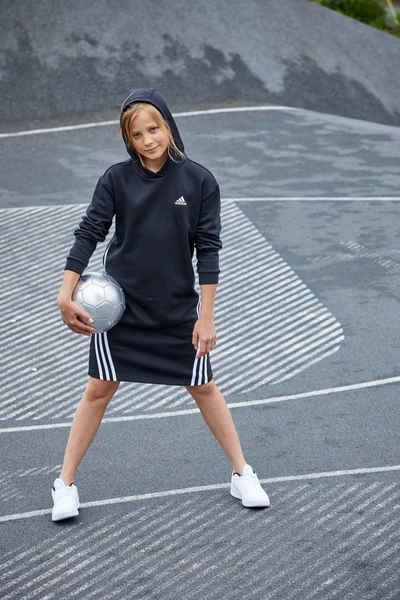adidas Performance Sweatkleid »G FI 3S DRESS«