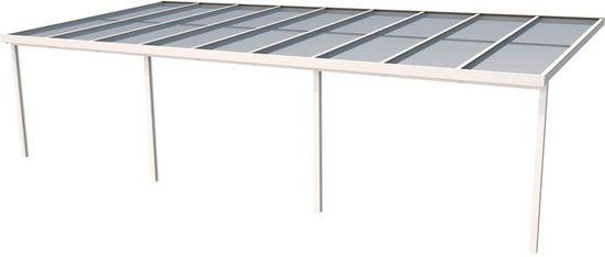 GUTTA Terrassendach »Premium«, BxT: 914x406 cm, Dach Acryl Klima blue