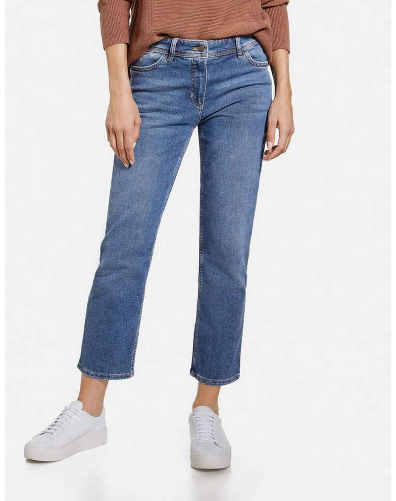 GERRY WEBER 7/8-Jeans »7/8 Jeans Straight Fit« (1-tlg) Hose