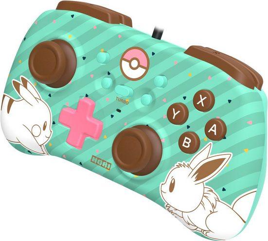 Hori »Switch Mini Controller - Pikachu & Evoli Edition« Controller