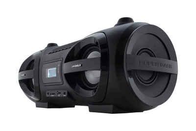Universum »BB 500-20« Audio-System (UKW Radio, CD/MP3 Player, Bluetooth, USB, AUX-IN, Kopfhörerausgang, Disco LED-Licht)